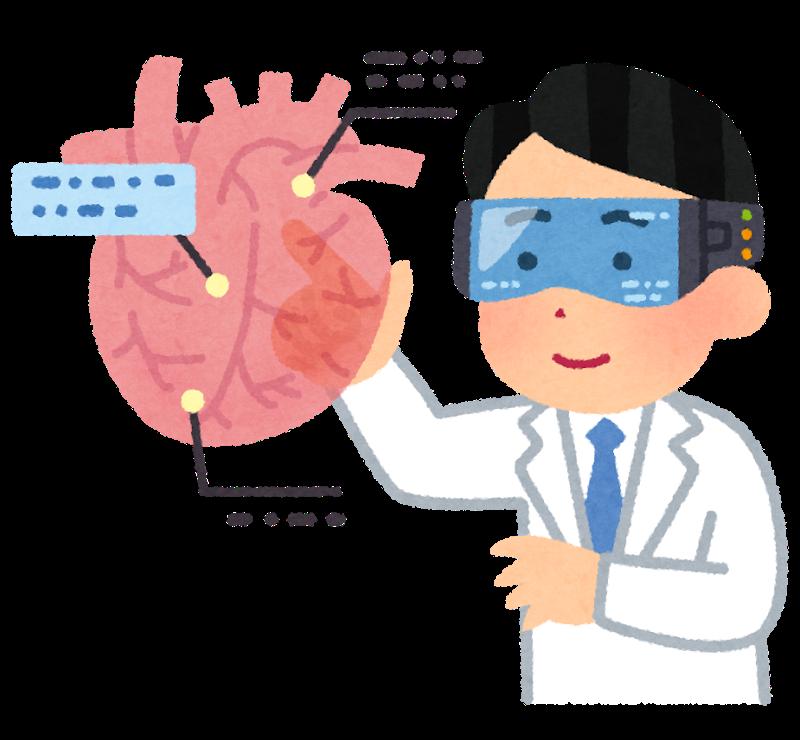ホログラムで心臓のイメージ治療戦略 20180831